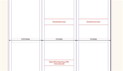 folding booklet template 6 tri fold brochure template indesign af templates