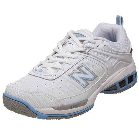 new balance new balance womens wc804 tennis shoe in white