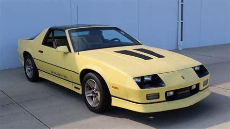 1986 chevrolet camaro z28 1986 chevrolet camaro iroc z28 s11 chicago 2014