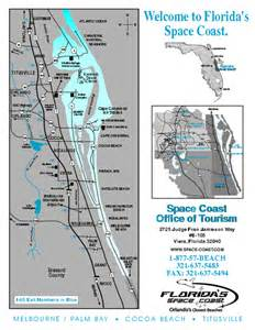 space coast florida map cape canaveral florida mappery