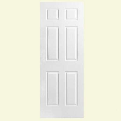 home depot hollow interior doors masonite textured 6 panel hollow primed composite