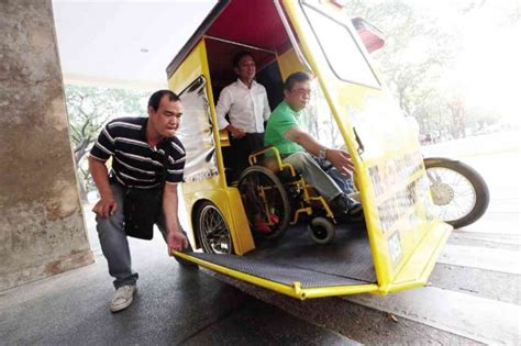 comfortable cars for seniors marikina rolls out pwd friendly trike motioncars