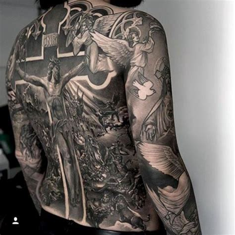 religious back tattoos for men 100 religious tattoos for sacred design ideas