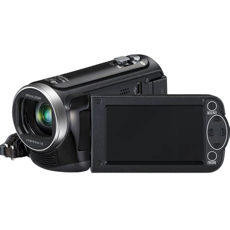 Panasonic Hd 100 Am panasonic hc v100 hd camcorder black hc v100k b h photo
