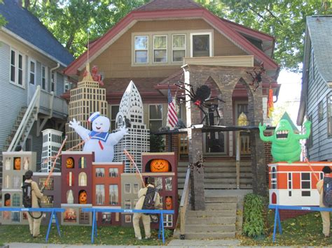 halloween decorations for the home ghostbusters halloween decor 25 halloween outdoor