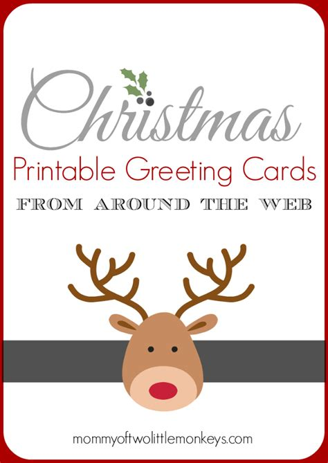 printable greeting cards canon christmas printable greeting cards from around the web