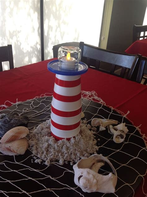 7 Fabulous Nautical Pieces by Lighthouse Centerpieces S Birthday