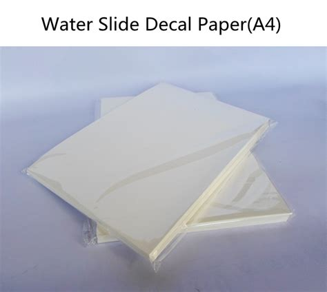 How To Make Water Slide Paper - how to make water slide paper 28 images clear water