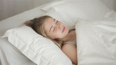 how to turn her on in bed funny little girl sleeping in bed waking up and smiling at