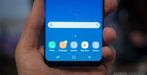 Samsung Galaxy S10 Home Button by Galaxy S8 Features Unique Home Button And Customizable Navigation Bar