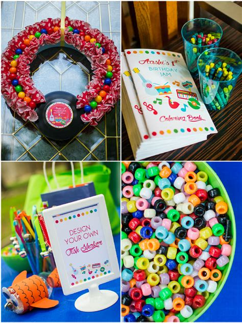 birthday themed games baby jam music inspired 1st birthday party party ideas