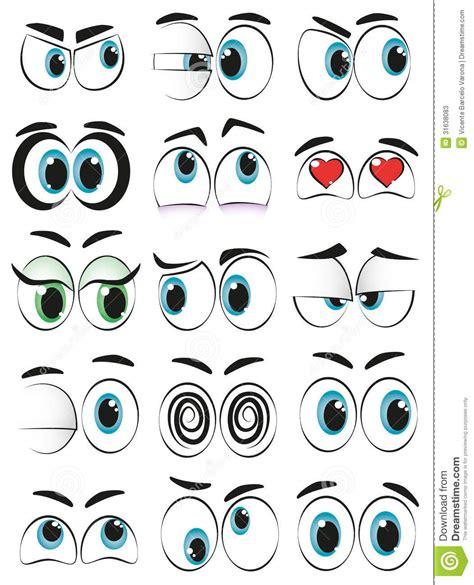 imagenes de ojos expresivos ojos de la historieta stock de ilustraci 243 n imagen de