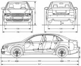 Size Of Audi A4 Audi A4 Avant Dimensions Images