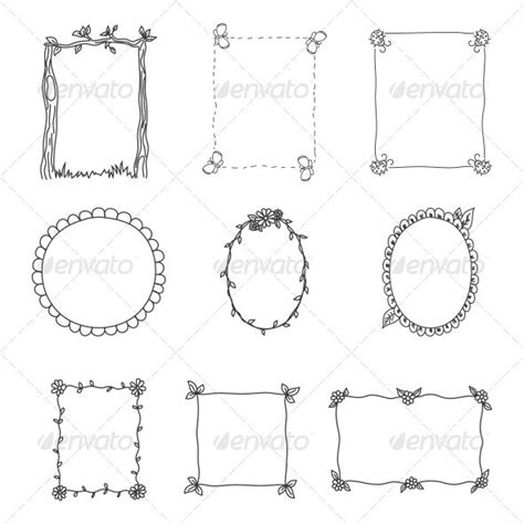 how to draw doodle frames 1000 images about my on doodle