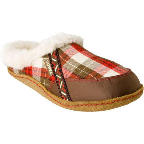 womens plaid slippers sorel nakiska plaid slipper s backcountry