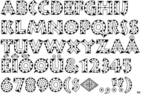 african pattern font african font buscar con google lettering pinterest