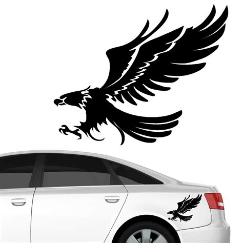 Vogel Aufkleber Transparent by Adler Greifvogel Autoaufkleber Wandtattoos