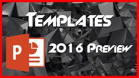 Templates And Template Customization 2 Powerpoint Ppt 2016 Tutorial Youtube Powerpoint 2016 Templates