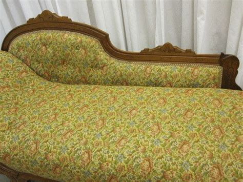 antique fainting couch for sale antique oak vistorian sofa lounge chaise fainting couch