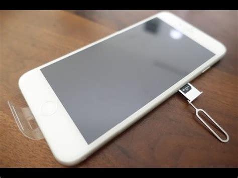apple insert  usim card   iphone   gb