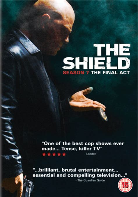 the shield best season the shield season 7 dvd zavvi