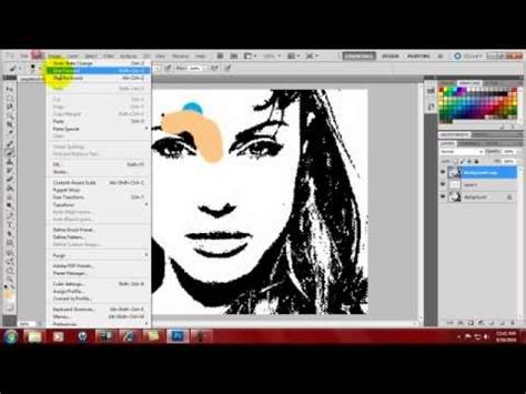 tutorial photoshop art pop photoshop tutorial pop art youtube