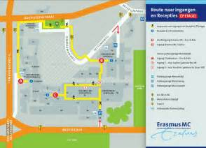 erasmus mc directions to the faculty building