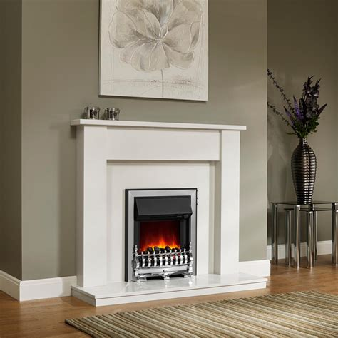 Fireplaces Surrounds by Simple Style Be Modern Elda 48 Quot Fireplace Surround