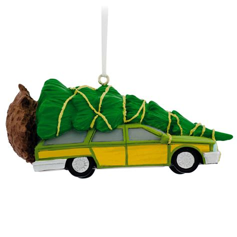 hallmark christmas vacation station wagon ornament
