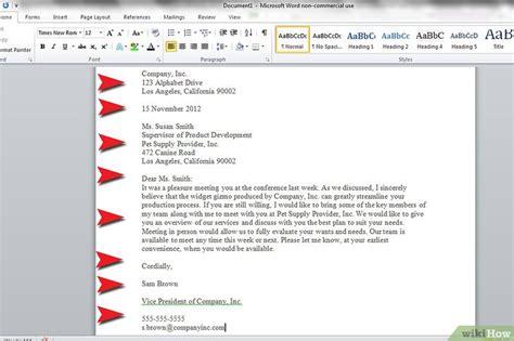 Zakelijke Brief Engels een zakelijke brief schrijven wikihow