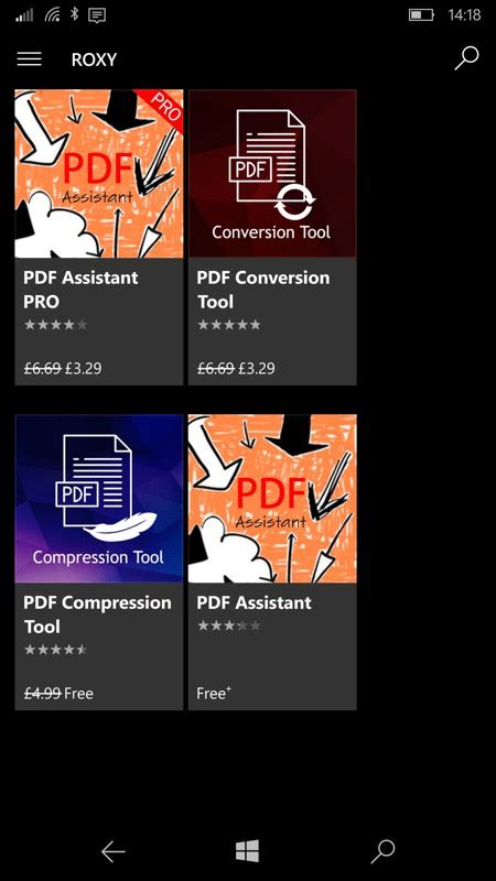 compress pdf by half pdf conversion tool uwp review all about windows phone