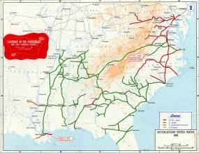 confederate states of america civil war railroad map