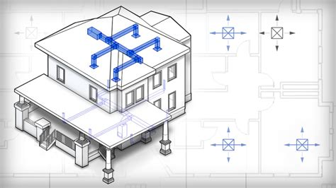 new home hvac design revit tutorials gt introduction to hvac design in revit mep