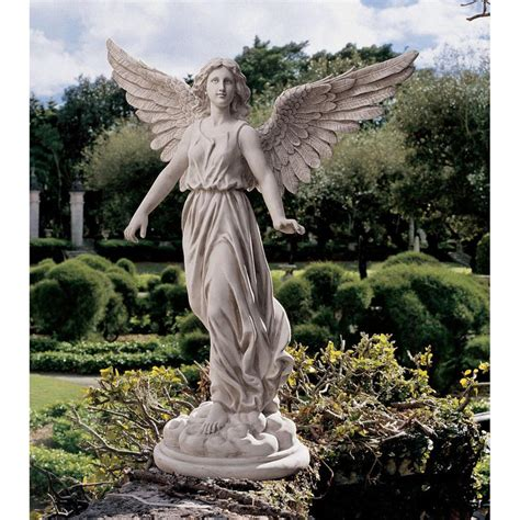 design toscano 38 quot angel of patience sculptural hand