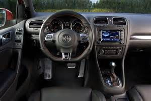 Vw Golf 6 Interior by Volkswagen Golf 6 Gti Interieur