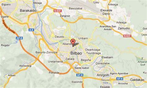 map of spain bilbao map bilbao spain images