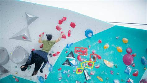coolest rock climbing  bouldering gyms  singapore