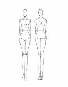 textiles templates figures fashion drawing template template search and design