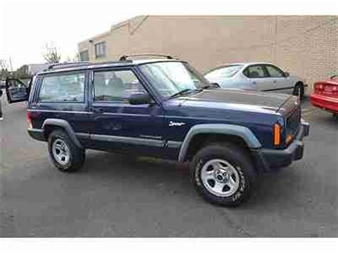 1997 Jeep Manual Find Used 1997 Jeep Sport 2dr 5 Speed Manual 4wd