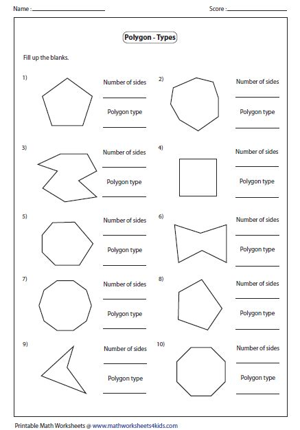 Perimeter Of Polygons Worksheet by Search Results For Polygons Worksheet Calendar 2015