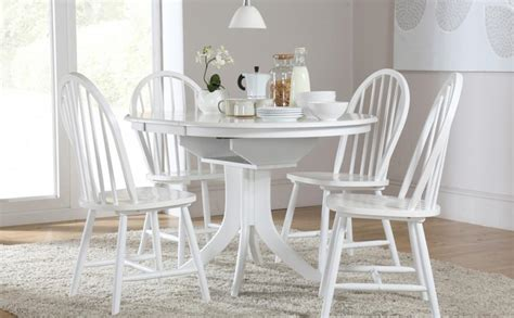 white chairs for dining table captivating white dining table and chairs inspirations