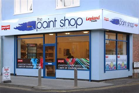 painting shop paint shop operators and stations in ashington