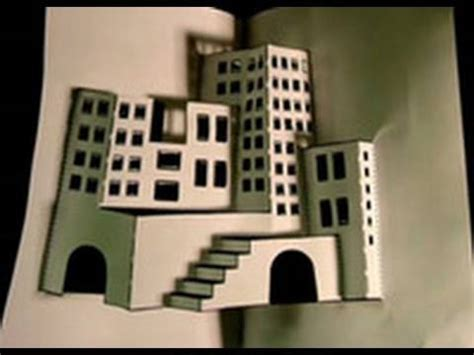 How To Make A 3d Paper City - make a 3d paper city