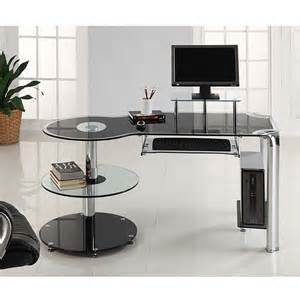 Black Computer Desk Uk Black Computer Desk With Drawers Review And Photo