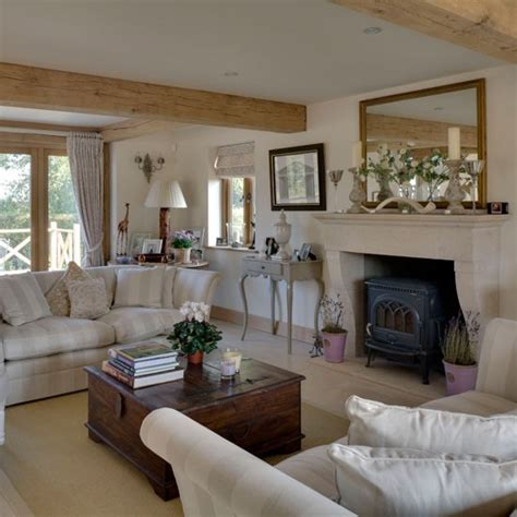 country home and interiors drawing room be inspired by this rustic new build house
