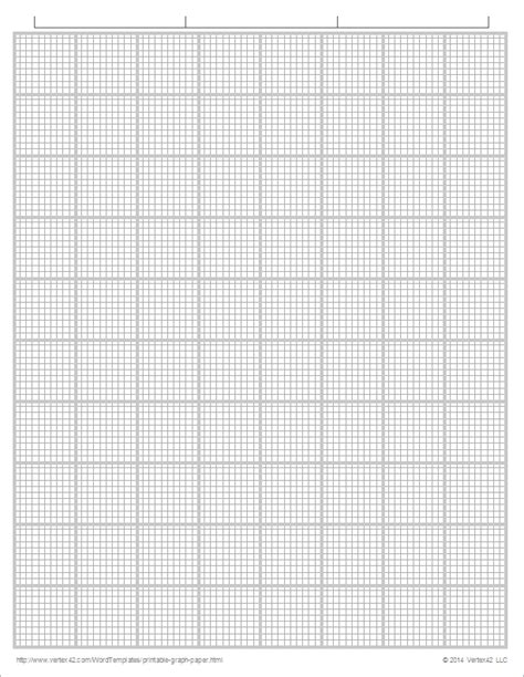 How To Make Graph Paper On Word - printable graph paper templates for word