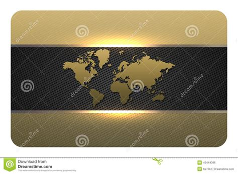 gold buisness card template gold business card template stock illustration image