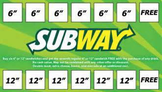 subway business card rewards card subways rewards card graphic design