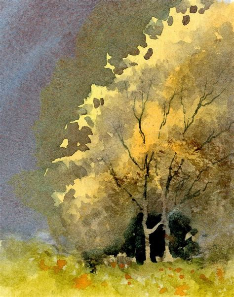 watercolor painting 69 best watercolor tree images on watercolor