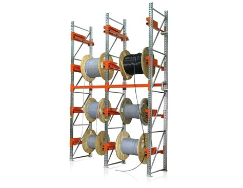 Cable Drum Racking Systems by Cable Reel Racks